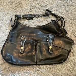 Dooney and Bourke Leather Black Shoulder Bag
